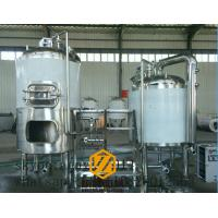 China 300L Capacity Brewhouse Equipment , Stainless Steel 3 Vessel Brewhouse wholesale