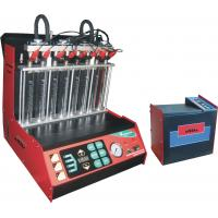 China Automotive Engine Carbon Fuel Injector Cleaning Machine , 8 Cylinders Injectors wholesale