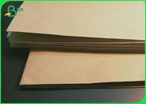 China SGS Low Weight 30g 50g 70g Bamboo Pulp Kraft Paper For Packing & Tags on sale