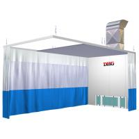 China Spray Booth Prep Stations / 6KW 380V Preparation Station For Car wholesale