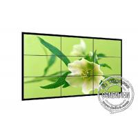 China 1.8mm 4K LCD Screen Wall 700cd / m2 , Industrial Grade DID Video Wall 2*2 Sound Media Player wholesale
