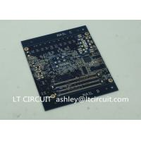 Quality Blind Vias Burried Vias Multilayer PCB Vias In Pad Heavy Gold Plating for sale