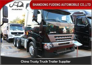 China Heavy Duty Tractor Head Trucks 6 X 4 Drive Type 420 Horse Power wholesale