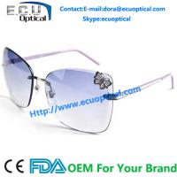 China 2014 Hot Sale Metal butterfly eyeglass With High Quality Trendy Women Nightclub Sunglasses wholesale