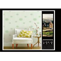 China Fashion PVC Classic Vintage Wallpaper Removable For Sitting Room , Easy To Clean wholesale
