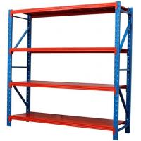 China Blue Upright Orange Pallet Light Duty Racking For Chemical Industry wholesale