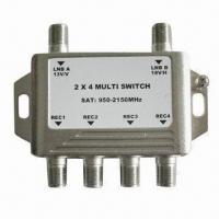 China 6-way CATV Switch, Used in Cable, Ethernet, TV, Satellite, RF, TV, Coaxial and Optical Splitter wholesale
