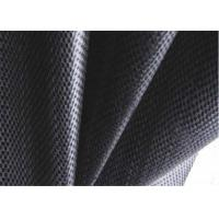 China PP Black Woven Geotextile , Soil Stabilization Fabric For Suppressing Weed wholesale