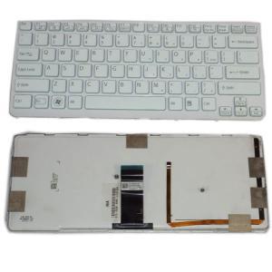 China laptop keyboard for Sony VAIO SVE14 Laptop Genuine Keyboard 149010211 US  white wholesale