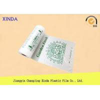 China Flat plastic regular duty garbage white large size bags eco-friendly industry use wholesale