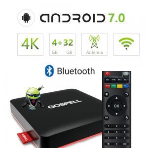 China Android Smart TV Box OTT Set Top Box 3D Video Playing 4K wholesale