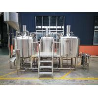 China 10 BBL Microbrewery Equipment Steam / Gas Heated Commercial Turn Key wholesale