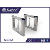China Running Stable Electronic Turnstile Gates , Pedestrian Swing Barrier Gate wholesale