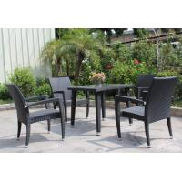 China Outdoor furniture rattan dinning set --16093 wholesale