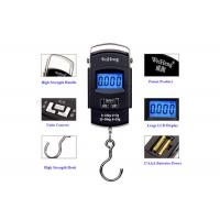 China High Precision Travel Bag Weight Scale , Blue Backlit Hand Luggage Scale wholesale