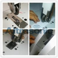 China Rotatory Ultrasonic Welder For Sealing / Cutting Nylon Laminated Fabric Filtering Paper wholesale