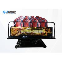 China Indoor Equipment 12 Seats 5D Cinema Theatre With 19 Inch Screen 220V wholesale
