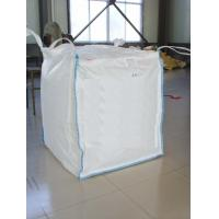 China FIBC 100% Pure Pp Material Ton Bag , Jumbo Plastic Bag With Baffle wholesale