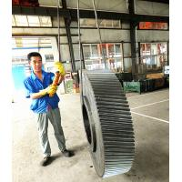 China large size helical gear for ball mill machine wholesale