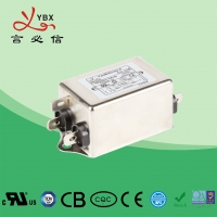 China 6A 1.5KW DC Line Noise Filter / LCD Power Line Signal Filter Compact Size wholesale