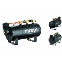 China Durable Black Small 2 In 1 Air Lift Suspension Compressor With 1.0 Gallon Air Tank on sale