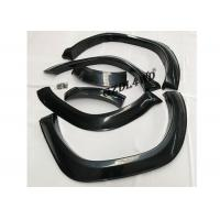Quality Smooth Black Wheel Arch Flares TRD Style Fender Flare Kits For Toyota Hilux Revo for sale