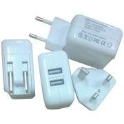 China 5V 2.1A Dual USB Wall Charger/Travel Charger wholesale