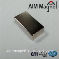 China Strong Block N50 Rare Earth Magnet 15mm x 10mm x 5mm on sale