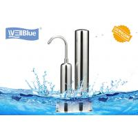 China Alkalince Ceramic Countertop Water Filter Purifier Faucet Mounted Two Stage wholesale