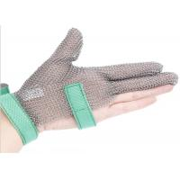China Butcher Anti Cutting Stainless Steel Gloves With Metal Plates , High Strength wholesale