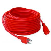 China American Conductor Blade Ground Pin Red Electrical Extension Cords wholesale