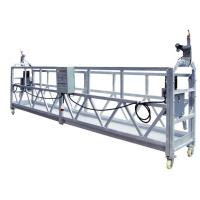 China OEM ZLP630 Aluminum Rope Suspended Window Cleaning Platform Cradle With 630 Rated Load wholesale