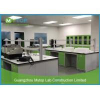 China Green Color Laboratory Furniture Systems Lab Working Table For Pathological Easy Clean on sale
