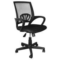 China 9KG Swivel Office Chairs With Wheels, High Back Computer ChairWith Lumbar Support wholesale