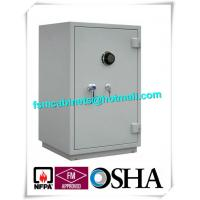 China Single Door Fireproof Storage Cabinets Double Layer 2 Hour Fire Safe CD / Files wholesale
