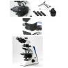China Revolving Round Stage Polarized Light Microscopy Transmitting Halogen / LED Illumination wholesale
