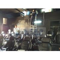 Quality Tunisia 5D Movie Theater With 20 Sets Single VIP Luxury Moving Chairs for sale