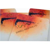 Double Window Custom Packaging Envelopes Multi Colors Autumn Full Printing