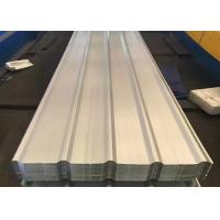 China Structural Color Coated Steel Roofing Sheet Width 1200mm 60 - 120g / M2 Coating wholesale