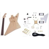 China Unfinished DIY Electric Guitar Kits , Flying Style Double Humbucker Guitar AG-FV3 wholesale