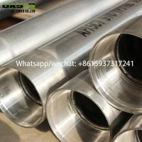 China Professional Manufacturer Of Stainless Steel Seamless Water Well Casing Pipe Tube Plein wholesale