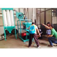 China EVA 50HZ Plastic Pulverizer Machine Recycling With Dust Removal System wholesale