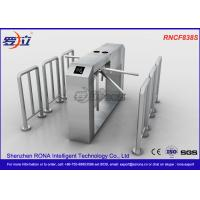 China Waist High Tripod Turnstile Gate Mechanism Intelligent Antirust For Station wholesale