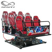 China Multiplayer Six Seats Mobile Truck Cinema Special Effects 5D 7D Movie wholesale