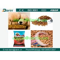Quality Professional Pet Food Extruder / Twin Screw Extruder FOR Dog , Cat , Fish for sale