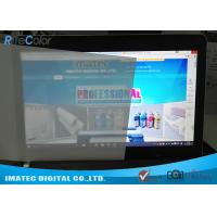 China Lightbox Front Print Backlit Film 165 Micron , Matte Inkjet Backlit Film Scuff Resistant wholesale