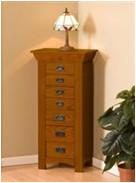 Buy cheap Customized Color Wooden Jewelry Box With Mirror / Hooks 50.2 * 32.5 * 135CM from wholesalers