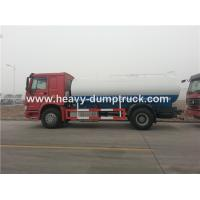 China Sinotruk Heavy Duty 10cbm Water Delivery Trucks , WD615.87290 Euro II Emission Standard wholesale