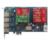 China AEX410 4 Port Asterisk Card with 3FXO&1FXS PCI Express Card wholesale