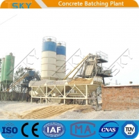 Buy cheap Discharging Quickly HZS90 90m³/H Concrete Batching Systems from wholesalers